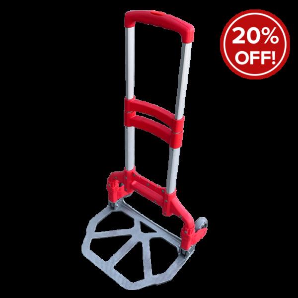 Folding Trolley -Red